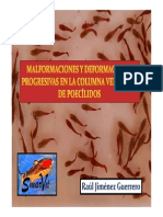 Malformaciones y deformaciones en poecílidos