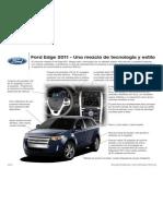 Tecnología en la nueva Ford Edge 2011