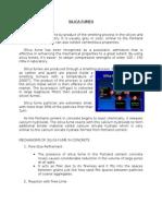 CE152P Admixtures - SILICA FUME, GGBS