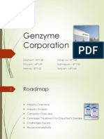 Genzyme Corporation Case Analysis