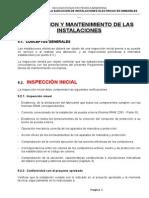 Habilitacion -Inspeccion y Mantenimiento de Las Instalaciones