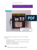 The Autodiscover Information Part 04 of 36