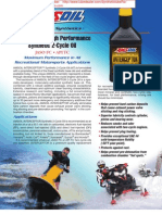 AIT - Interceptor Synthetic Two Stroke Oil for Snowmobiles and other uses.  A very good choice for Sleds being used out west in the Mountains.