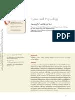 (2015) Lysosomal Physiology