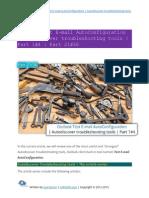 Outlook Test E-mail AutoConfiguration Autodiscover Troubleshooting Tools Part 1-4 - Part 21 of 36