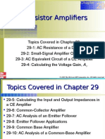 Chapter 29 Transistor Amp