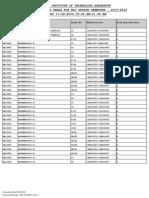 Midsem Timetable Spring 2014