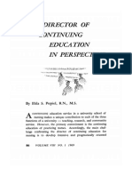 The Director of Continuing Education in Perspective