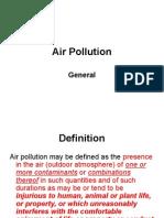 Air Pollution - General