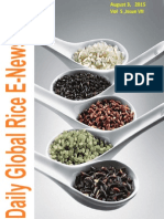 3rd August (Monday),2015 Daily Global Rice E-Newsletter by Riceplus Magazine