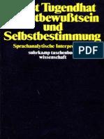 1979 Selbstbewusstsein Und Selbstbestimmung