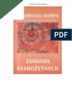 T. Lobsang Rampa - Jaskinia Starożytnych
