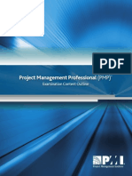 Pmp Exam Content Outline