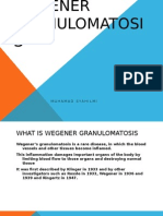 Wegener Granulomatosis Slide Medical