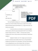 Lulu Enterprises, Inc. v. N-F Newsite, LLC et al - Document No. 109