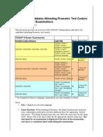 Togaf9 Exam Cbt Advice Sheet