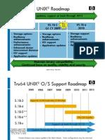 Tru64 Roadmap Current