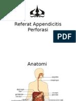 Referat Appendicitis Perforasi