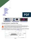 Kirlian Photography - Making Exposures Using Sheet Film