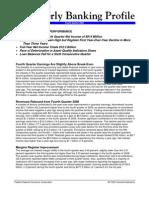 FDIC Quarterly Banking Profile