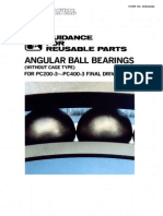 GFRP Angular Ball Bearings