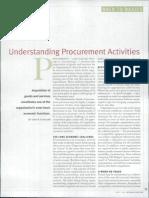 3. Understanding Procurement Activities