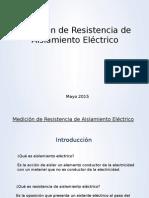 Medición de Resistencia de Aislamiento Eléctrico