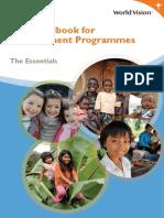 The Essential Handbook for World Vision Development