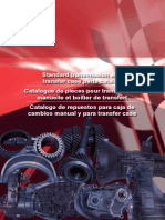 Manual Trans and Transfer Case Parts Catalogue