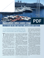 Aquaculture takes centre stage at MONACO BLUE INITIATIVE 2015 6TH EDITION