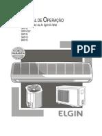 Guia do Usuário - AR Condicionado Elgin