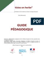 Artistes en Herbe_guide Pdagogique 2012