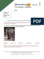 MIII-U1- Actividad 1. Ecuaciones Lineales
