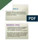 Deontología y Geografía