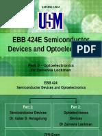 Semiconductor Optoelectronics