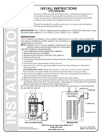 Ditek DTK-120240CMB Installation Manual