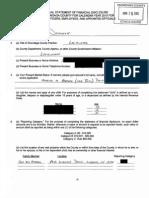 Onondaga County Legislator John Dougherty financial disclosure 2015