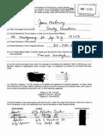 Onondaga County Executive Joanie Mahoney financial disclosure 2015