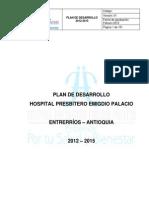 PLAN DE DESARROLLO HPEM 2012-2015