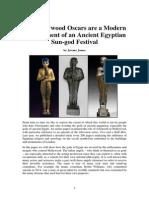 The Hollywood Oscar Symbolizes an Egyptian Sun God