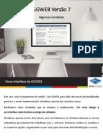 GGWEB Versão 7 - Alterações