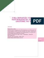 Coelho 2005 Uma Reflexao Sobre a Naturaliz 21328