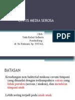 Yuda 2 Otitis Media Serosa