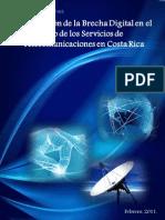 II Evaluacion de La Brecha Digital en El Uso de Los Servicios de Telecomunicaciones