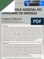 Policarpo Controle Judicial Consumo Drogas 2014