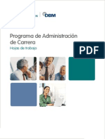 Manual DBM Programa de AdministracioÌ-n de Carrera