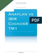 Cognos TM1 vs Anaplan
