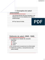 Definicion de Nefermedad Clase 1