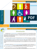 Tipos de Discapacidad