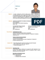 CV of Md Shakilur Rahman